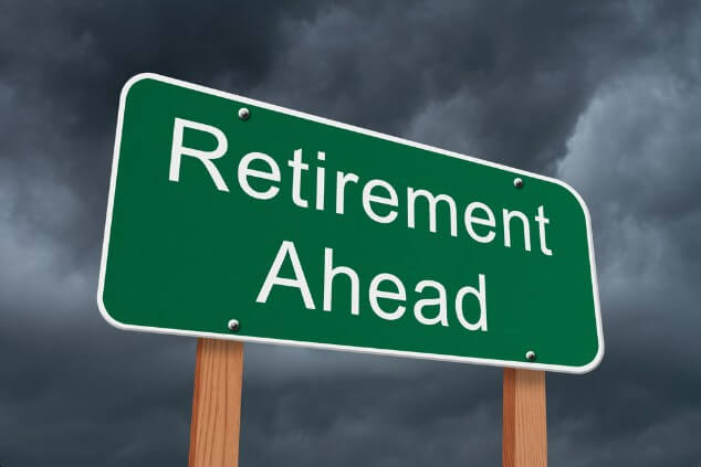 What happens to your pension if you retire due to illness?